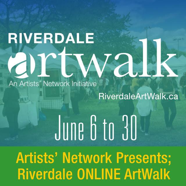 An image of the Riverdale Art Walk logo.