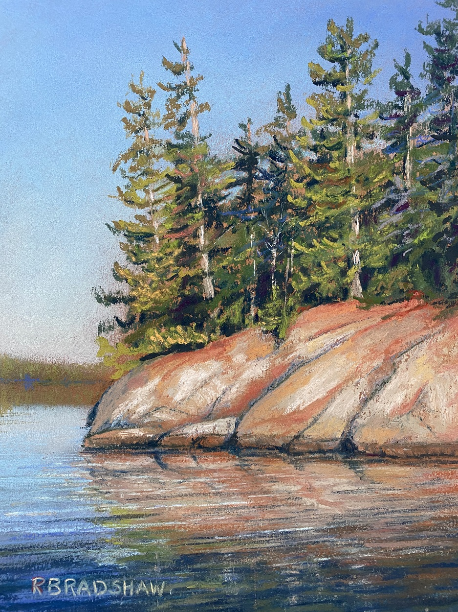 An image of Sunny Day Ahead, a painting by Renata Bradshaw Landscape Artist